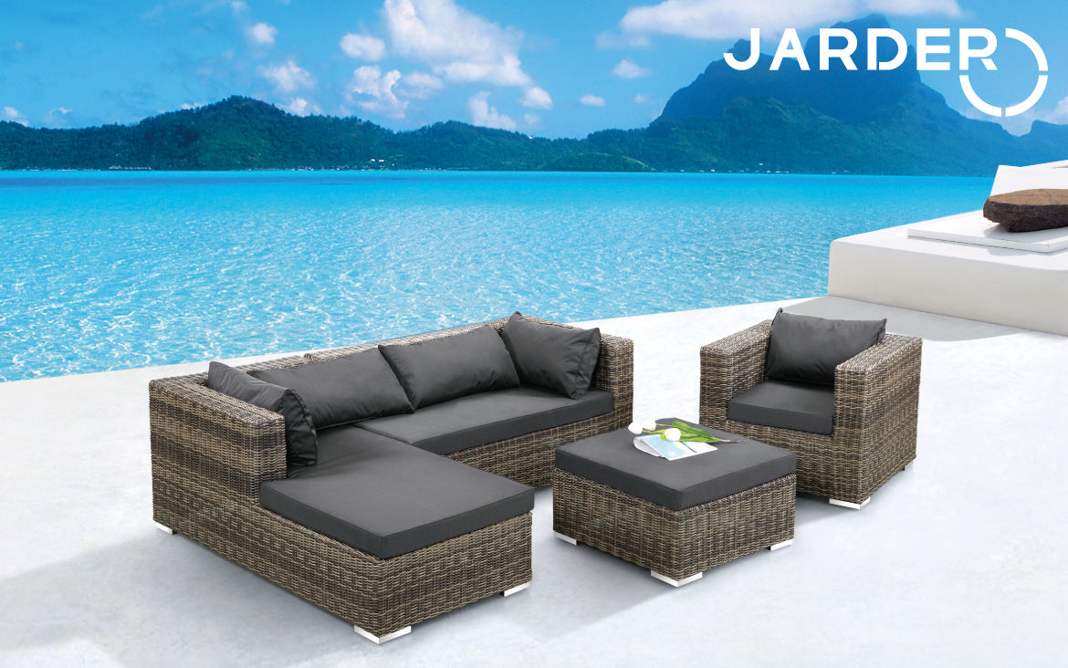 Rattan furnituire sofa chair table dining set outdoor for Alyssa outdoor chaise